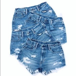 Vintage Levi's 501 High Waist Jean Shorts
